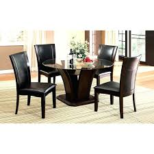 round glass dining table set for 4 rooms to go dining table sets lovely round glass