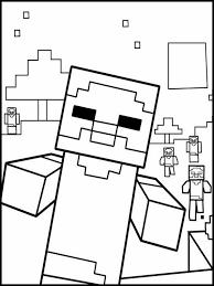 Minecraft Kleurplaten Printen 8