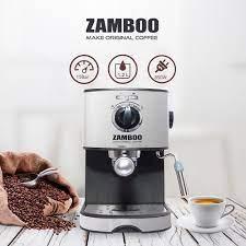 Máy pha cà phê Zamboo ZB-86CF - 15 bar - tặng 250gr cà phê - Máy pha cà phê