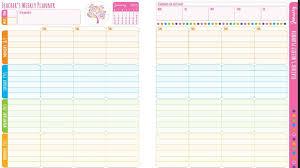 Teacher Weekly Planners Teacher Weekly Planner Under Fontanacountryinn Com