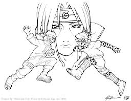 Naruto Coloring Pages Printable Coloring Sheet For Kids Naruto