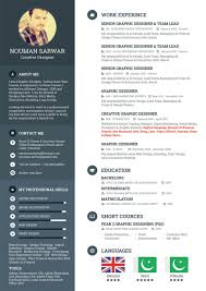 Sarwar Freelance Web Designer Resume Example Year Experience Sample