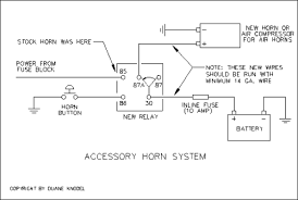 wiring diagram for motorcycle horn wiring image 6v horn relay wiring diagram wiring diagram schematics on wiring diagram for motorcycle horn