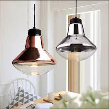 Industrial Light Shade Us 62 4 35 Off Loft Vintage Glass Pendant Light Shade E27 Led Industrial Retro Edison Bronze Chrome Pendant Lamp Light Fixtures For Restaurants In