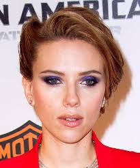 makeup for green eyes purple