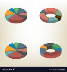 Pie Chart Isometric
