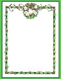 Border Paper Free Printable Ers Templates Stationery Editable