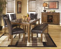 Rectangle Dining Room Tables Lacey Rectangular Dining Room Table 2 Side Chairs Large Uph