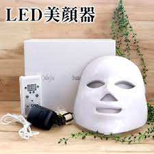 japanese for mask plus cherie led beauty face device with the japanese manual