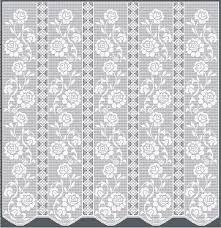 Filet Crochet Patterns Delectable Vintage Filet Crochet Patterns Free Crochet And Knit