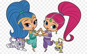 Sparkle And Shine Cartoon Nickelodeon Shimmer And Shine Season 1