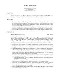 Resume Objective Examples Management Resume Objective Examples ...