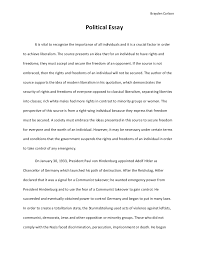 political essay
