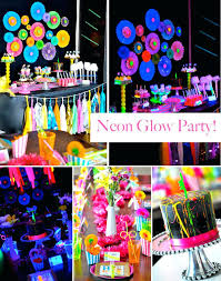 Parties ideas for teenage girls Kara Teenage Party Decoration Ideas Neon Glow In The Dark Party Perfect For Teen Or Tween Teenage Party Decoration Ideas Home Decor Ideas Teenage Party Decoration Ideas Created Teenage Girl Birthday Theme