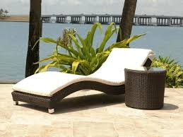 chaise loungeswhite wicker chaise lounge outdoor home design ideas