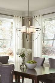 Dining room lighting ideas pictures Decorative The Silhouette Of The Modern Alturas Lighting Collection By Sea Gull Lighting Features An Interlocking Modern Chandeliermodern Dining Room Pinterest 64 Best Dining Room Lighting Ideas Images Dining Room Lighting