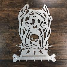 Pitbull Dog Key Hanger