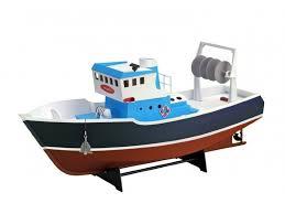 <b>Собранная деревянная модель</b> рыболовецкого судна ATLANTIS ...
