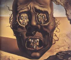 painting name the face of war painter name salvador dali