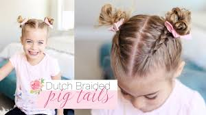 Pigtails Hair Style cute little girl hairstyle dutch braided pigtails twist me 7468 by stevesalt.us