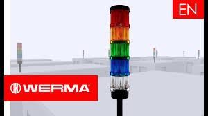 Werma Lights Werma Kombisign 72 The New Generation Of Signal Towers