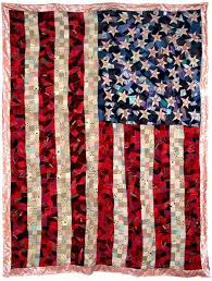 Best 25+ American flag quilt ideas on Pinterest | Flag quilt ... & AMERICAN FLAG CRAZY QUILT, 2003 Sewn fabric and found material, 112 x 86  inches Adamdwight.com