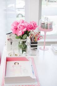 girly office decor. pops of pink in every room yes girly office decor