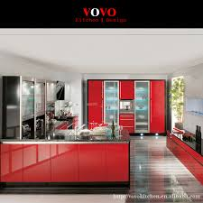 Modern Glass Kitchen Cabinets Online Buy Wholesale Glass Kitchen Cabinet From China Glass