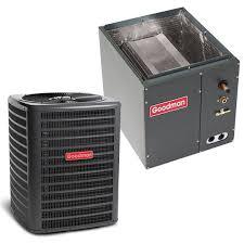 goodman condenser. 5 ton goodman 14.5 seer condenser gsx160601 plus cased coil capf4961c6 system with txv | heatandcool.com d