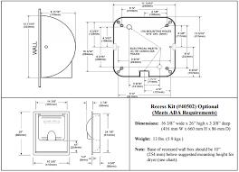 excel xl w xlerator hand dryer allied hand dryers excel xl spec 4 png