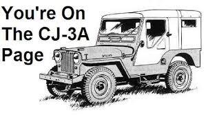 the cj3a page tech tips