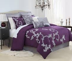 quilt sets best bedding purplpe quilt set with gray and white shades in square big quilt sets purple king