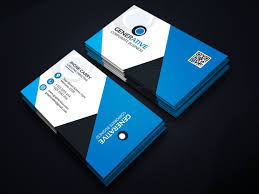 Card Design Template Eps Sleek Business Card Design Template 001599 Template