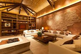 Vaulted Ceiling Living Room Interior Decoration Modern Living Room With L Shaped White