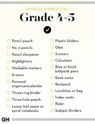 shopping lists back to school supplies list 2019 best school shopping