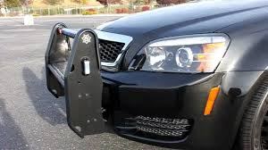2011 Chevrolet Caprice Police Package Setina Bumper with LED's ...
