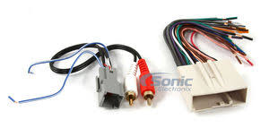 scosche fdk11b wire harness to connect an aftermarket stereo Scosche Wiring Harness For Select Ford Vehicles wire harness to connect an aftermarket stereo receiver to select 2004 up ford and mercury vehicles w premium sound Scosche Wiring Harness Diagrams