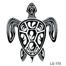 Paroháč Vodotěsné Dočasné Tetování Nálepka želva Falešné Tetování