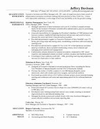 Resume For Office Manager Fresh Fice Administration Medical Sample