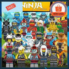 Đồ Chơi Non Lego - COMBO 2 Minifigures Ninjago SS11 Season 11 Mẫu Siêu Đẹp  Giá Rẻ