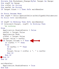 Excel Data Validation Select Multiple Items