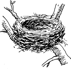bird nest clipart.  Bird Bird Nest 2148  On Clipart 2