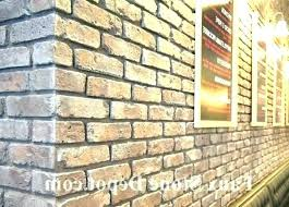 fake brick wall covering outdoor exterior panels faux interior home stone menards brisbane fa