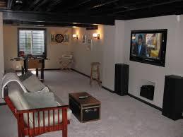unfinished basement lighting ideas. Wonderful Cool Unfinished Basement Ideas With Lighting  Collection Unfinished Basement Lighting Ideas