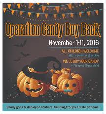 halloween candy buy back practice cafe dental marketing flyer