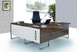 walnut office furniture. New Modern Walnut Office Furniture Manager Desk (HF-B252)