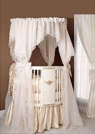 elegant baby furniture. Simple Furniture Elegant White Baby Nursery Round Crib Bedding Ideas Inside Elegant Baby Furniture C