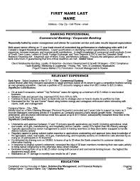 Banking Resume Amazing 6423 Commercial Banking Corporate Banking Resume Template Premium