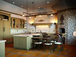 decorating above kitchen cabinets tuscan style design ideas for home colorful kitchens famous rustic to reflect