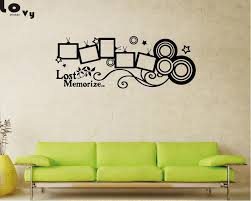 diy family photo frame vinyl wall sticker home decor living room bedroom wall decals poster removable wallpaper wa0037 tree decals tree decals for walls